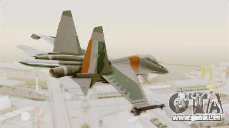 SU-30 MKI pour GTA San Andreas laissé vue