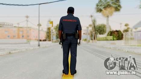 GTA 5 Paramedic LS für GTA San Andreas dritten Screenshot