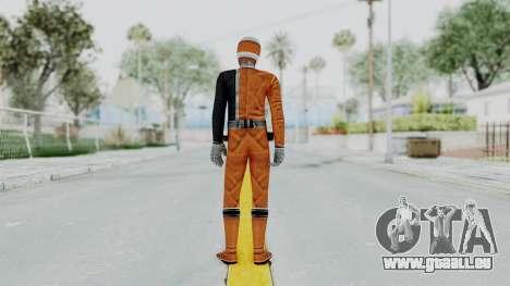 Power Rangers S.P.D - Orange für GTA San Andreas dritten Screenshot