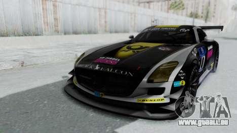 Mercedes-Benz SLS AMG GT3 PJ6 pour GTA San Andreas moteur