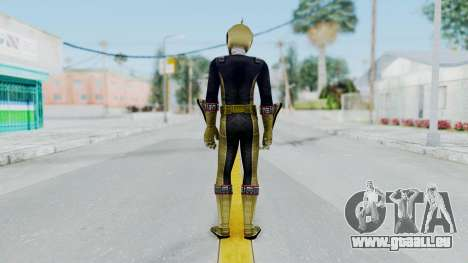 Power Rangers RPM - Gold für GTA San Andreas dritten Screenshot