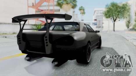 Elegy Rocket Bunny 1.0 pour GTA San Andreas laissé vue