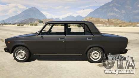 Lada 2107 für GTA 5