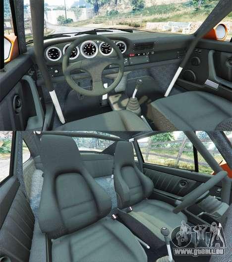 GTA 5 Ruf CTR v1.2 arrière droit vue de côté