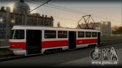 Tatra T3SU pour GTA San Andreas laissé vue