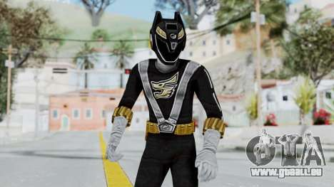 Power Rangers RPM - Black für GTA San Andreas