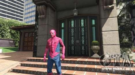 GTA 5 Spider-man zweite Screenshot