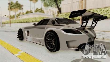 Mercedes-Benz SLS AMG GT3 PJ3 pour GTA San Andreas vue de droite