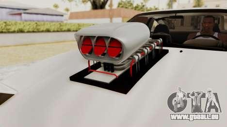 Nissan 240SX Monster Truck pour GTA San Andreas vue arrière