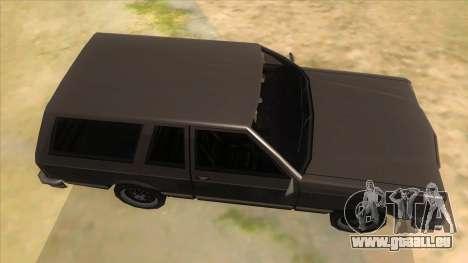 Regina Coupe pour GTA San Andreas vue intérieure