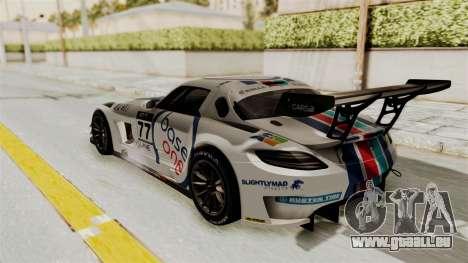 Mercedes-Benz SLS AMG GT3 PJ3 für GTA San Andreas Innen