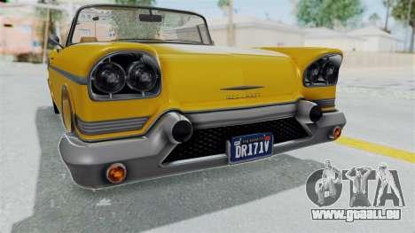 GTA 5 Declasse Tornado Bobbles and Plaques IVF pour GTA San Andreas vue de côté