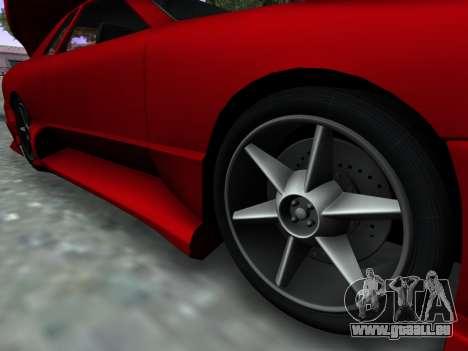 Elegy PFR v1.0 pour GTA San Andreas vue de droite