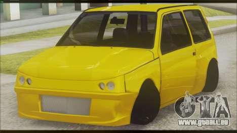 VAZ 1111 Oka pour GTA San Andreas sur la vue arrière gauche