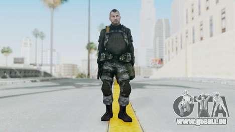Battery Online Soldier 3 v4 pour GTA San Andreas deuxième écran