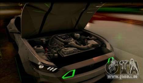 Ford Mustang RTRX Coupe für GTA San Andreas rechten Ansicht