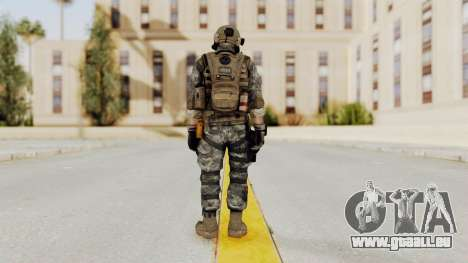 Battery Online Soldier 1 v1 für GTA San Andreas dritten Screenshot