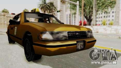 GTA 3 - Taxi pour GTA San Andreas vue de droite