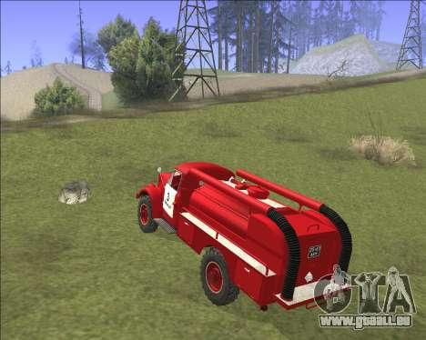 GAZ 63 Feuerwehr für GTA San Andreas rechten Ansicht