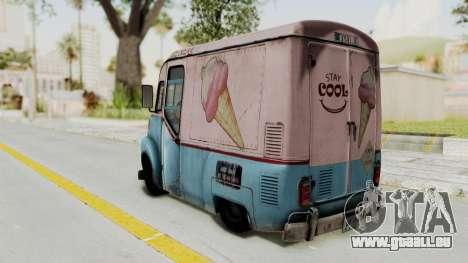 Hitman Absolution - Ice Cream Van pour GTA San Andreas laissé vue