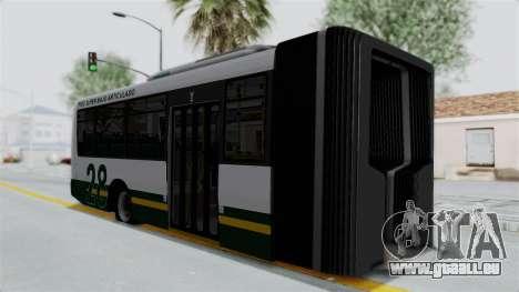 TodoBus Pompeya II Scania K310 Linea 28 Trailer pour GTA San Andreas