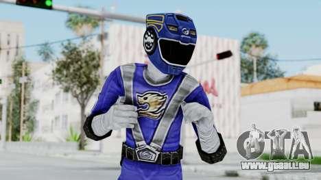 Power Rangers RPM - Blue für GTA San Andreas