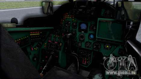 Mi-24V Russian Air Force 46 für GTA San Andreas rechten Ansicht