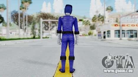 Power Rangers RPM - Blue für GTA San Andreas dritten Screenshot