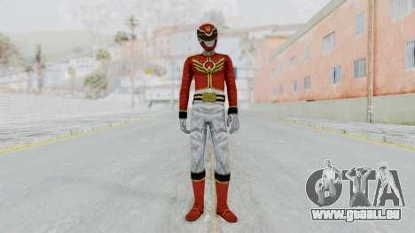 Power Rangers Megaforce - Red pour GTA San Andreas deuxième écran