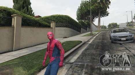GTA 5 Spider-man vierten Screenshot
