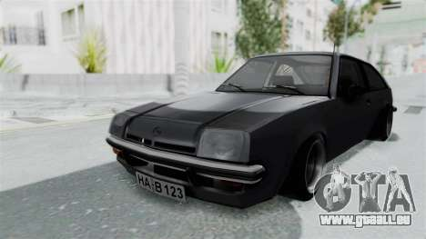 Opel Manta B1 CC pour GTA San Andreas