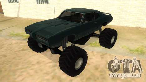 1969 Pontiac GTO Monster Truck pour GTA San Andreas