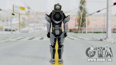 Power Rangers Megaforce - Knight für GTA San Andreas dritten Screenshot
