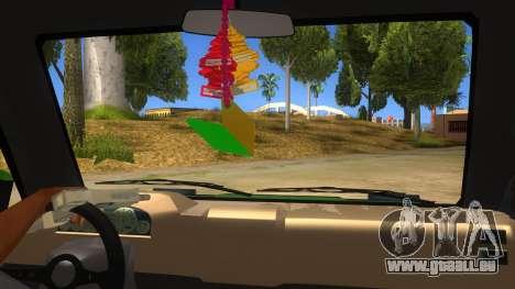 Toyota Kijang Grand Extra IKC pour GTA San Andreas vue intérieure