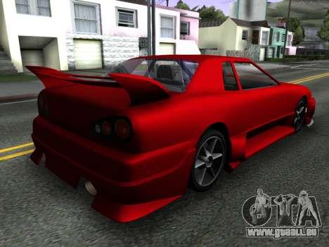 Elegy PFR v1.0 pour GTA San Andreas laissé vue