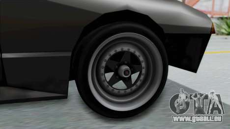 Elegy Rocket Bunny 1.0 pour GTA San Andreas sur la vue arrière gauche