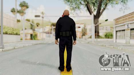GTA 5 LV Cop pour GTA San Andreas troisième écran