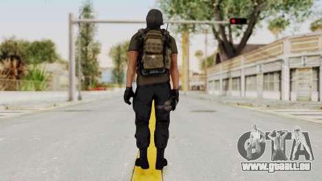 CoD AW KVA SMG für GTA San Andreas dritten Screenshot