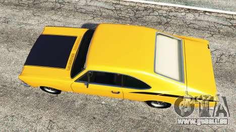 GTA 5 Chevrolet Opala SS4 1975 vue arrière