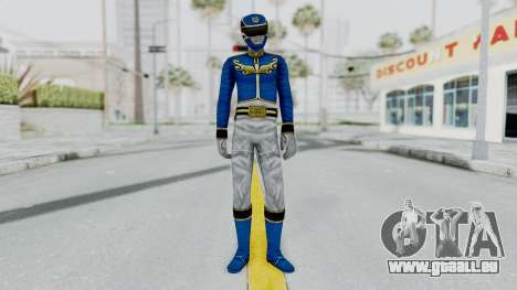 Power Rangers Megaforce - Blue für GTA San Andreas zweiten Screenshot