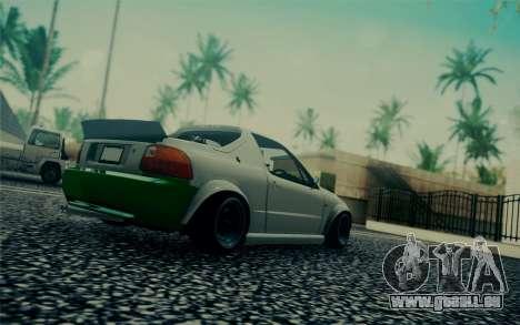 Honda Stance pour GTA San Andreas vue de droite