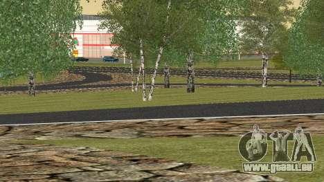 De nouvelles textures pour les Criminels de la R pour GTA San Andreas troisième écran