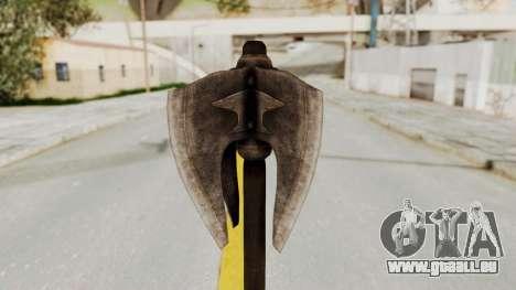 Skyrim Iron Mace pour GTA San Andreas deuxième écran