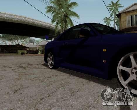 Nissan R33 GT-R Tunable pour GTA San Andreas roue