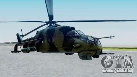 Mi-24V Sri-Lanka Air Force CH621 für GTA San Andreas