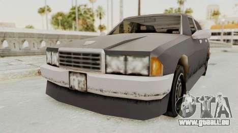 GTA 3 Mafia Sentinel pour GTA San Andreas vue de droite