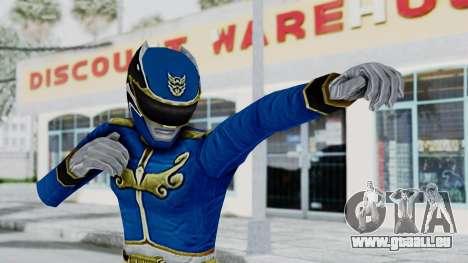 Power Rangers Megaforce - Blue für GTA San Andreas
