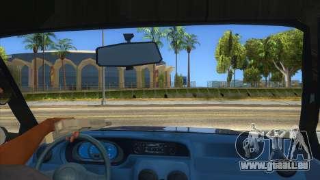 Dacia Solenza V2 pour GTA San Andreas vue intérieure