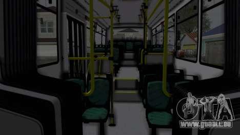 TodoBus Pompeya II Scania K310 Linea 28 Trailer pour GTA San Andreas sur la vue arrière gauche