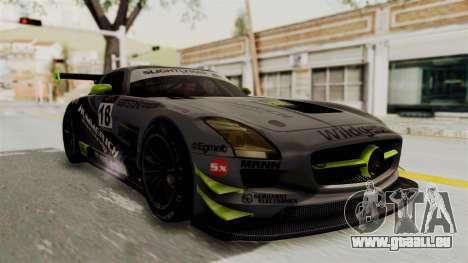 Mercedes-Benz SLS AMG GT3 PJ3 pour GTA San Andreas moteur